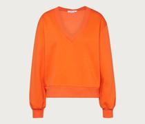 Pullover 'Caron' orange