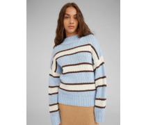Pullover 'Egid' blau
