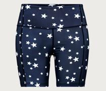 Shorts 'Linn' blau/weiß