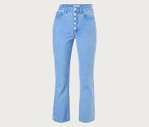 Flared Jeans 'Maja' blau