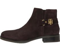 Boots dunkelbraun / gold