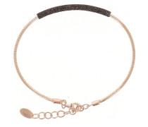 Armband kastanienbraun / rosegold