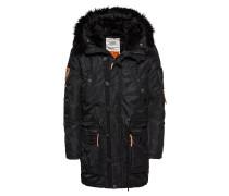 Mantel 'robinson' schwarz