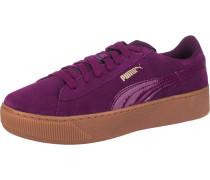 'Vikky' Platform Sneakers lila
