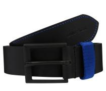 Gürtel 'b-Alano - belt' blau / schwarz