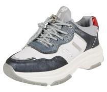 Sneaker dunkelgrau / rot / weiß