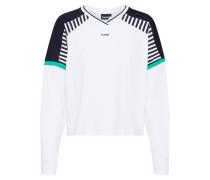 Shirt 'cate' schwarz / weiß