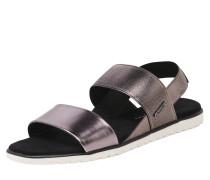 Sandale im Glamour-Look bronze