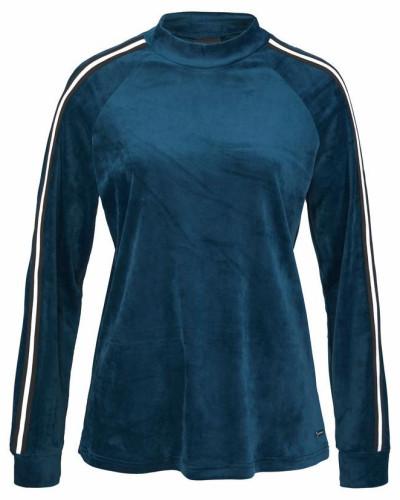 Lounge-Shirt blau