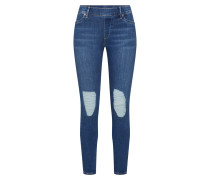 Jegging blue denim