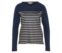 Shirt 'highland Stripe' navy / gold