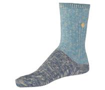 Socken himmelblau / hellblau