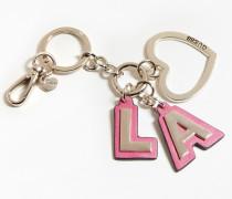 Schlüsselanhäger gold / pink