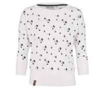 Pullover 'Pusteblume' schwarz / weiß