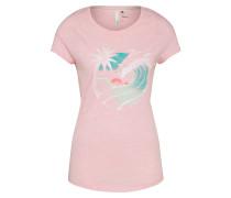 Shirt 'waves' hellblau / rosa