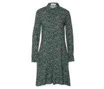 Kleid 'Lucilla' gelb / grün / schwarz
