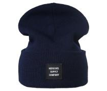 Mütze 'Abbott' navy / weiß