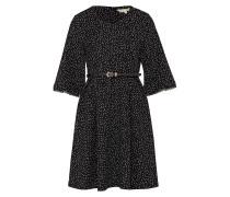 Kurzes Sommerkleid schwarz