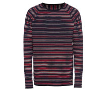 Pullover 'Crewneck pullover in cashmere blend quality with rolled hem'