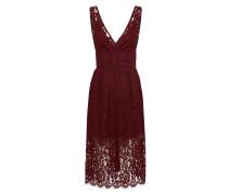 Kleid 'yasbibba Lace Dress' bordeaux