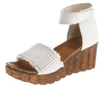 Sandaletten naturweiß