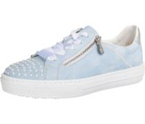 Sneakers hellblau / silber / weiß