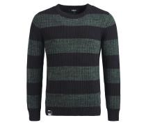 Pullover 'Jaky' nachtblau / pastellgrün