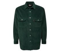 Hemd 'oversizedworker' dunkelgrün