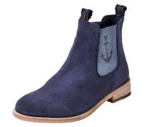Chelsea Boot 'julia' mit Anker blau