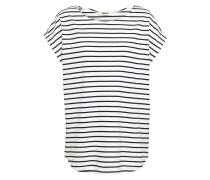Shirt 'Bell Stripe' schwarz / weiß