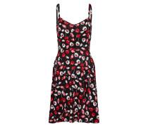 Kleid rot / schwarz