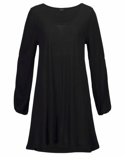 Longshirt schwarz