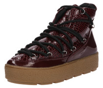 Sneaker 'gabbi Patent Snake MIX Padded Lace UP'