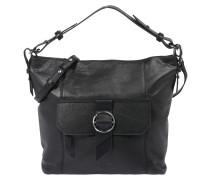 Hobo-Bag 'Worldtrotter' schwarz