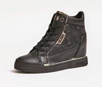 Sneaker 'Fabia' schwarz