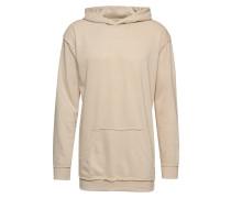 Sweatshirt 'Oversized Open Edge Slub Terry Hoody'