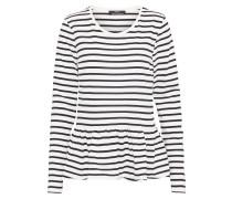 T-Shirt Streifen schwarz / weiß