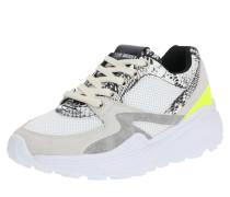 Sneaker 'savoy' grau / beige