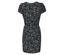 Kleid navy / gelb