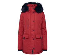 Jacke 'ashley Everest Parka' rot