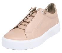 Sneaker mit Glitzereffekt rosa