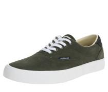 Sneaker 'jfwmork Suede' weiß / oliv