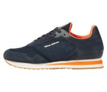 Sneaker nachtblau / dunkelorange