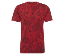 T-Shirt 'onsSULLIVAN SS' rot / merlot