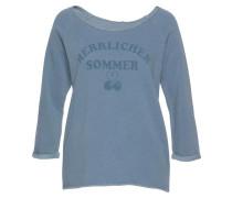 Sweatshirt 'Benice' rauchblau