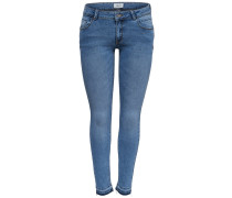 Jeans 'onlDAISY LOW SK ANK Pushup DNM JNS MJ'