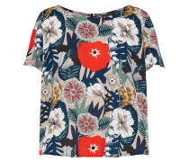Shirt ecru / navy / rot