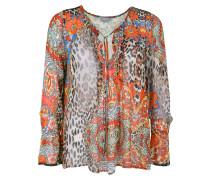 Bluse im Ethno-Stil mischfarben