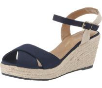 Sandale beige / navy