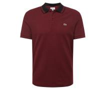 Poloshirt 'chemise' weinrot